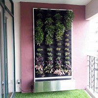 Recirculating Vertical Garden in Mont Kiara