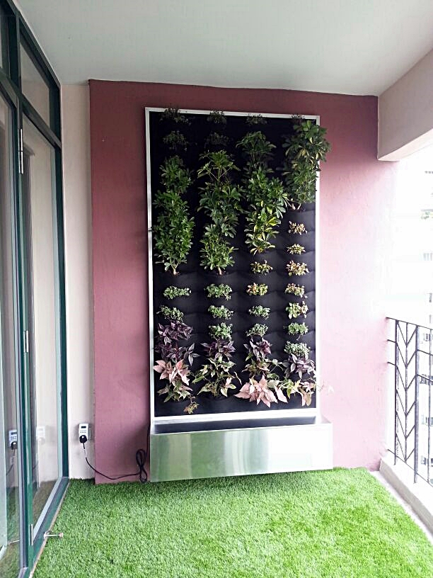 Vertical Garden in Mont Kiara 2