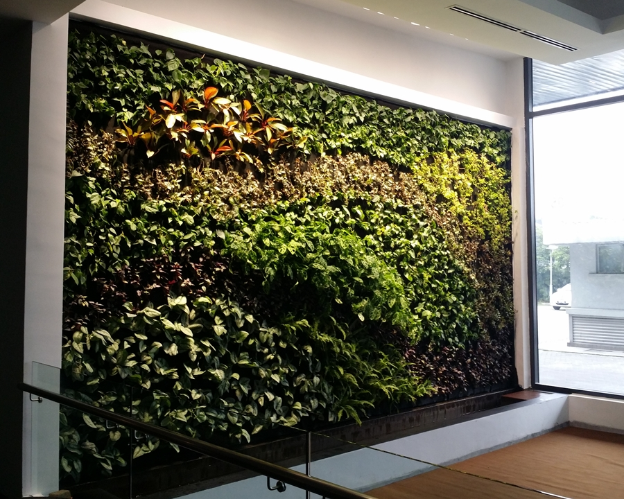 Indoor Vertical Garden Ideas About Wall Planters On Pinterest